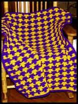 Free Lsu Jackolantern Pattern, Free Lsu Blanket Crochet