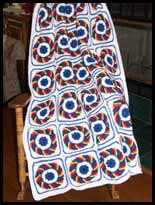 LSU Crochet Afghan submited images.